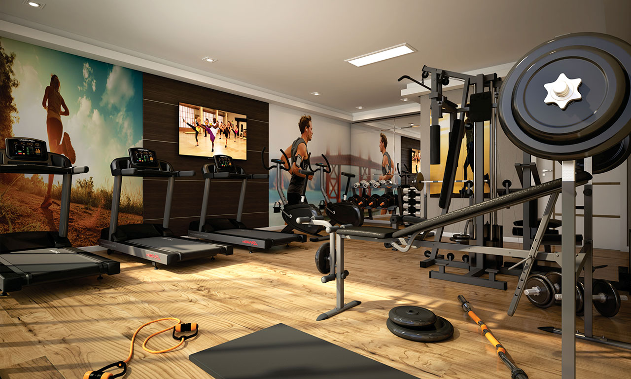 Fitness - SCULP Paris Residence - Canto do Forte - Praia Grande
